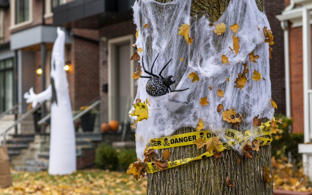 safe halloween decorating
